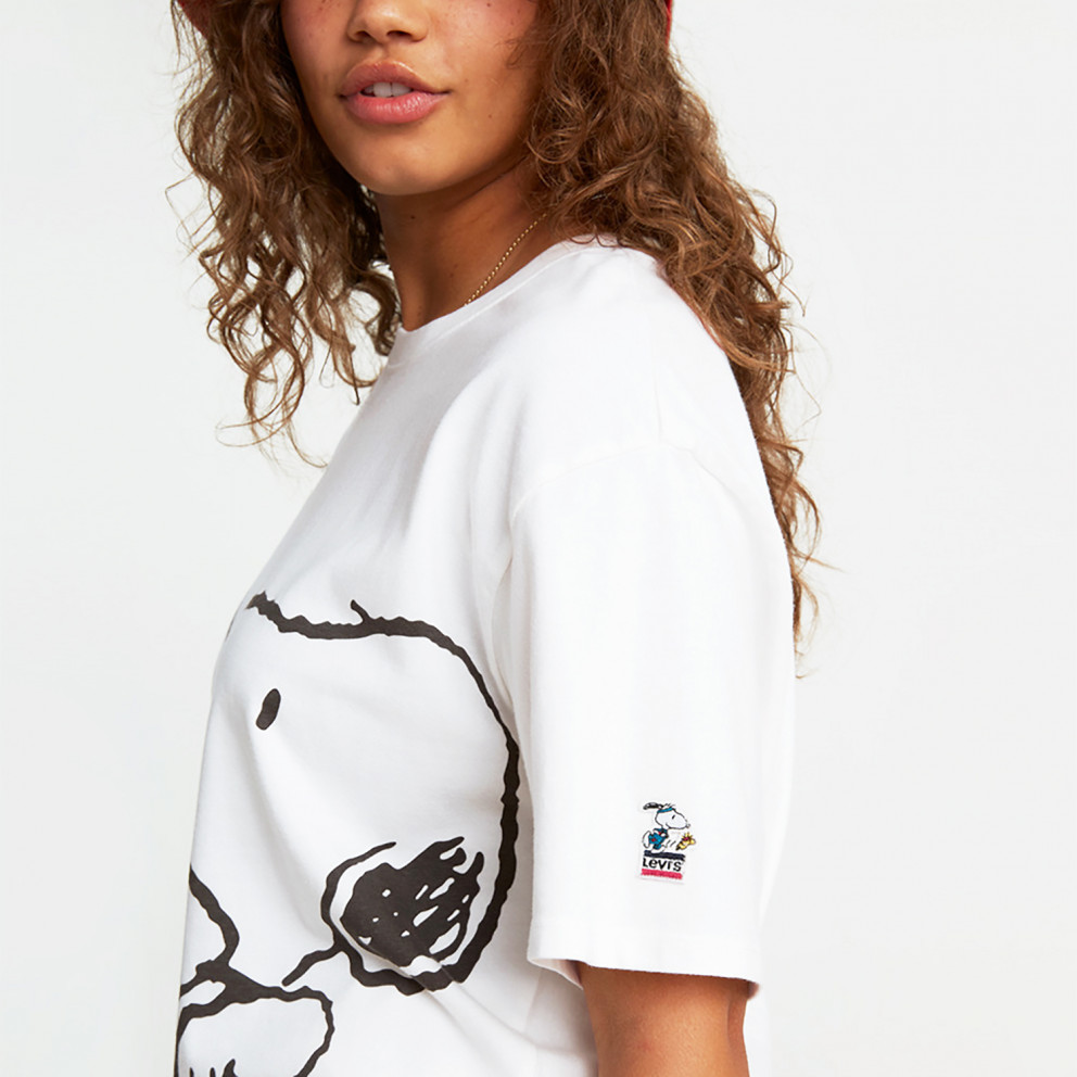 Levis Graphic Rlxed Oversze Snoopy O