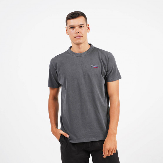 Tommy Jeans Washed Logo Ανδρικό T-Shirt