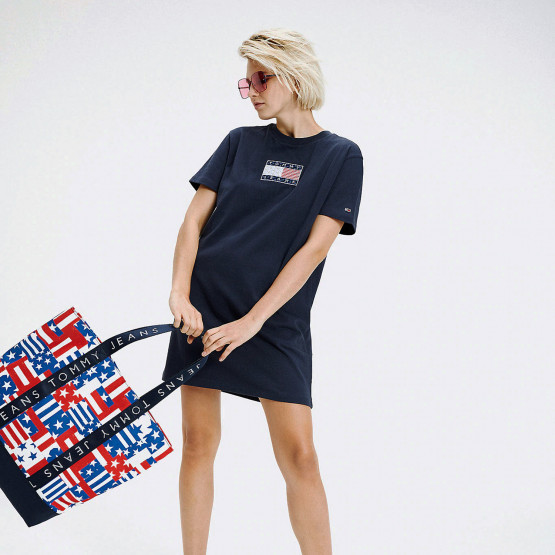 Tommy Jeans Logo Tee Dress