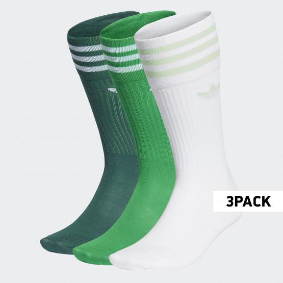 adidas Originals Solid Crew Sock Κάλτσες 3 Pack