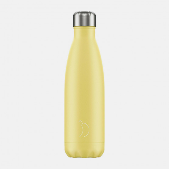 Chilly's Pastel Thermos Yellow 500 ml