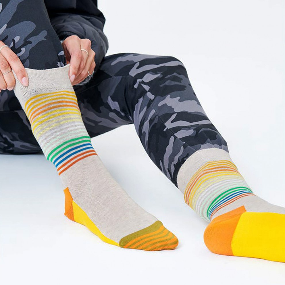 Happy Socks Half Stripe Unisex Κάλτσες