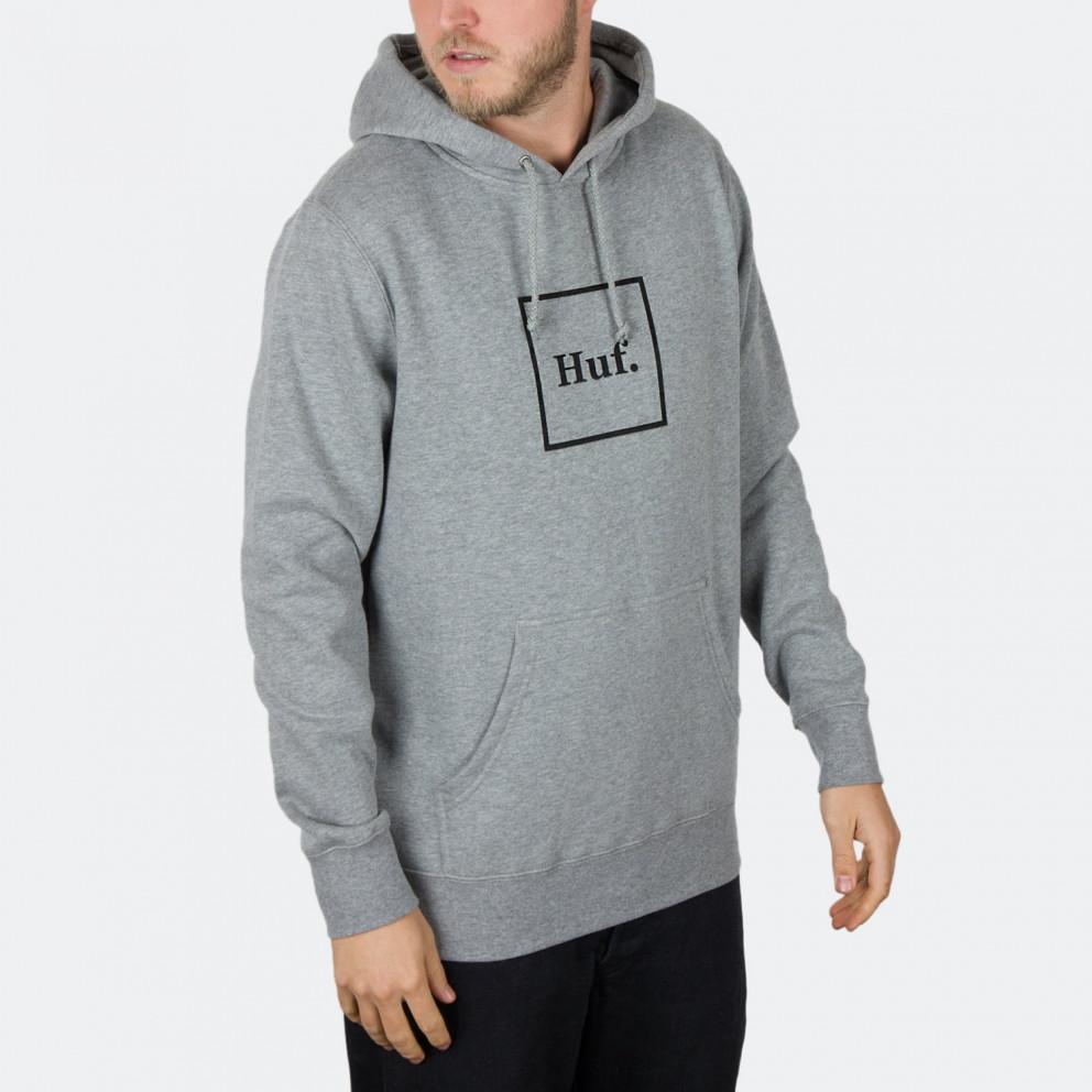 HUF Box Logo Pullover Men's Hoodie