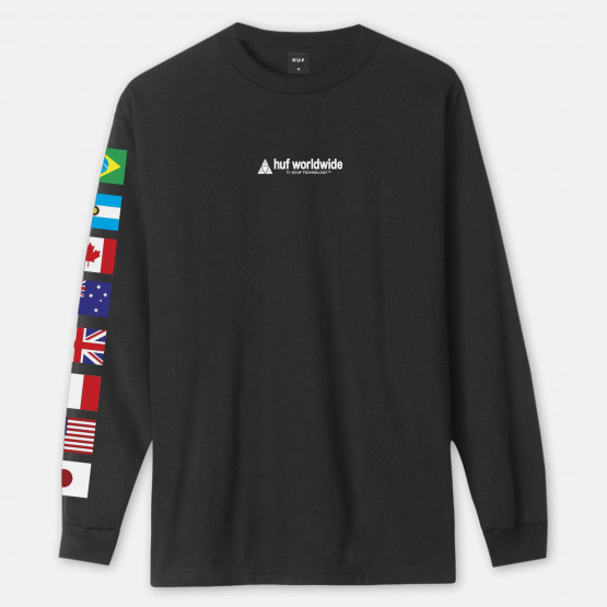 Huf Flag Union Men's Long Sleeve Tee
