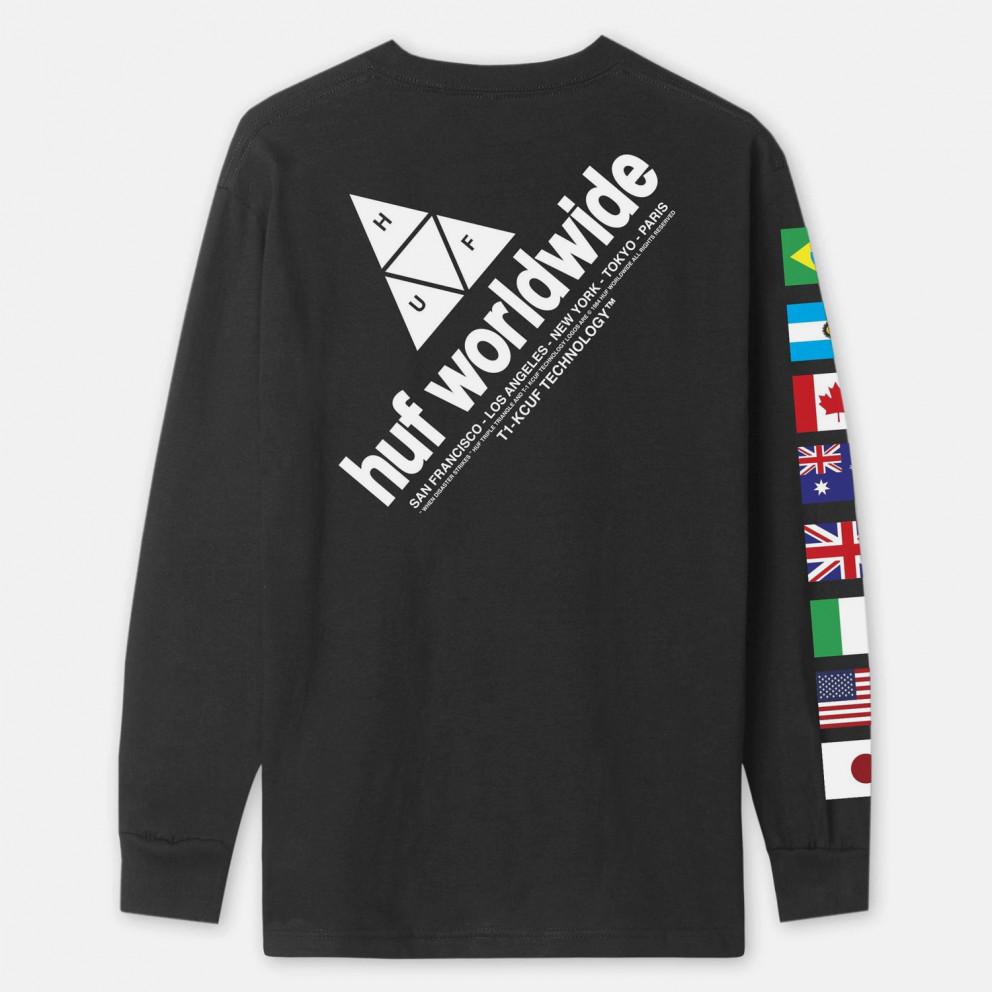 Huf Flag Union Men's Long Sleeve Tee