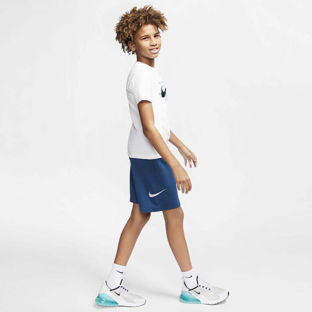 Nike Sportswear Swoosh French Terry Παιδική Βερμούδα