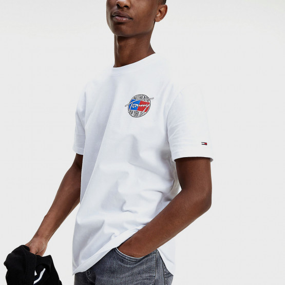 Tommy Jeans Back Print Peached Cotton Men's Tee