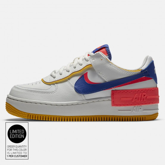 Nike Air Force 1 Shadow Women S Sneakers White Astronomy Blue Ci0919 105 Nike mens air force 1 trainers size 9 grey suede sneakers shoes eu 44. nike air force 1 shadow women s sneakers
