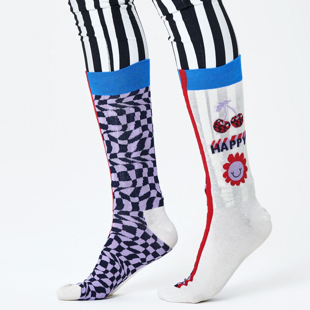 Happy Socks Half/half Optic Κάλτσες