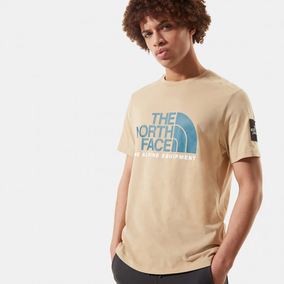 THE NORTH FACE M Ss Fine Alp Tee 2 Hawthorne Kha