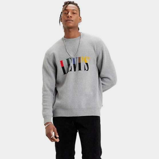Levis T2 Crewneck Sweater Intarsia S
