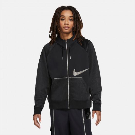 Nike W Nsw Icn Clsh Fz Flc