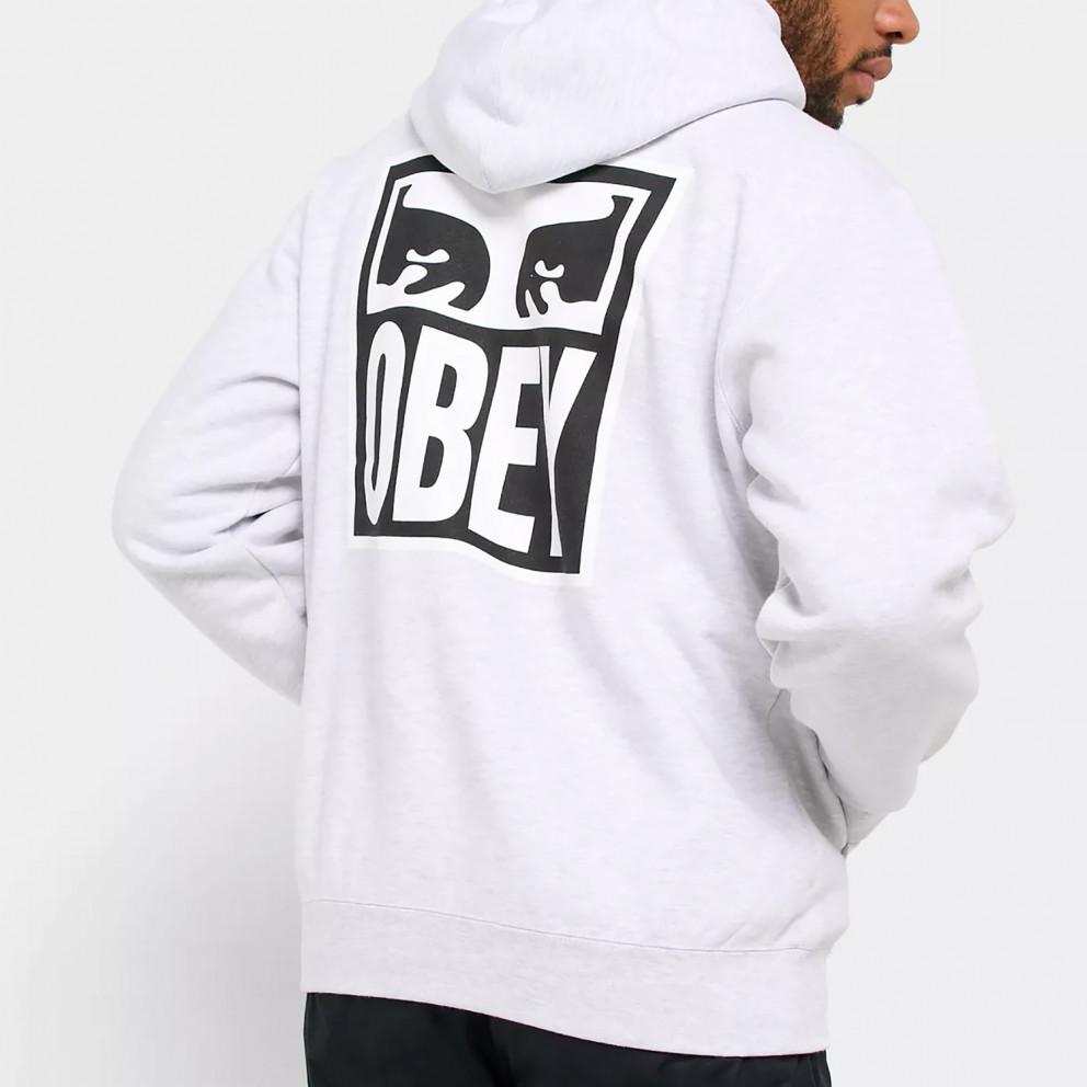 Obey Eyes Icon 2 Premium Fleece Ανδρική Μπλούζα με Κουκούλα