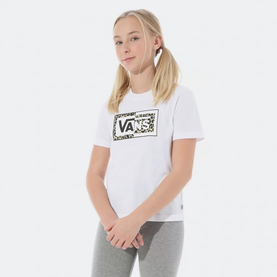 Vans Split Leopard Παιδικό T-shirt (8-14+ ετών)