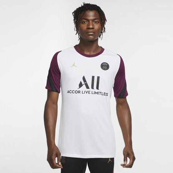Nike Paris Saint Germain Strike Ανδρική Κοντομάνικη Ποδοσφαιρική Μπλούζα