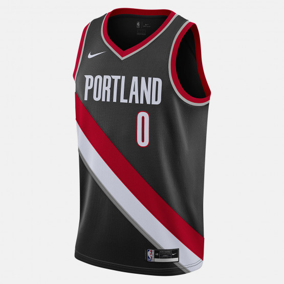 Nike NBA Damian Lillard Portland Trail Blazers Icon Edition 2020 Men's Jersey