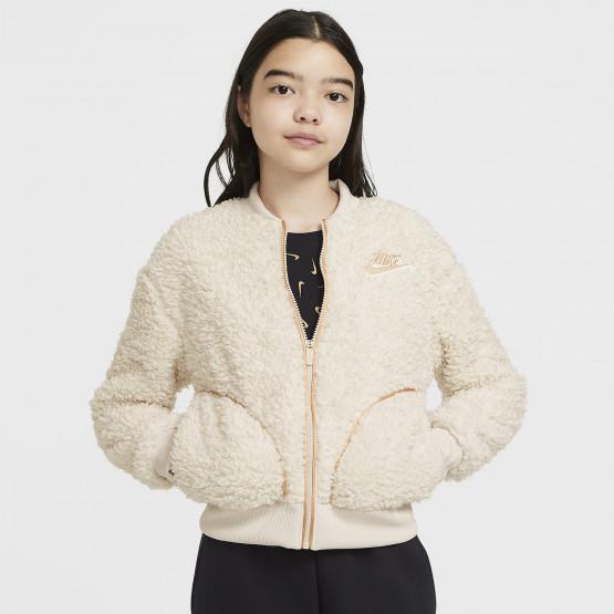 Nike Sportswear Full-Zip Shepra Παιδικό Μπουφάν