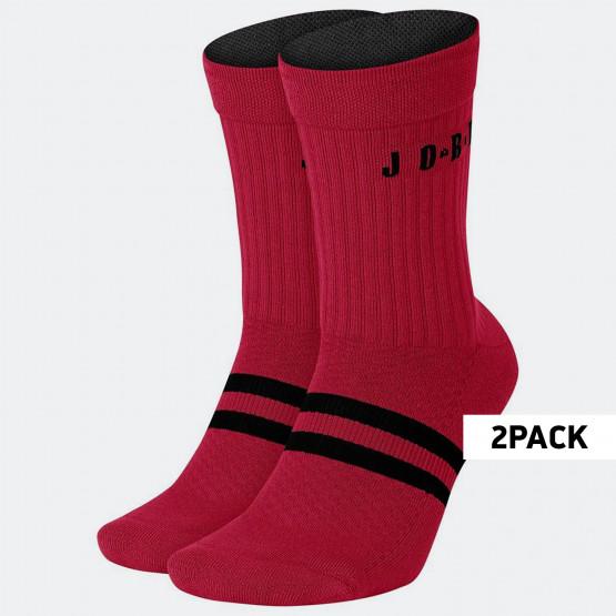 Jordan Legacy Crew 2Pack Men's Socks