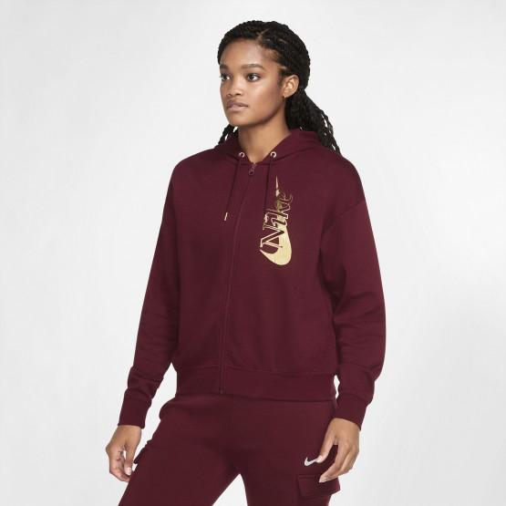 Nike Sportswear Γυναικεία  Ζακέτα με Φερμουάρ σε Όλο το Μήκος
