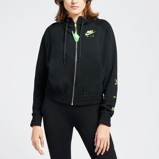 Nike W Nsw Air Hoodie Fz Bb Flc