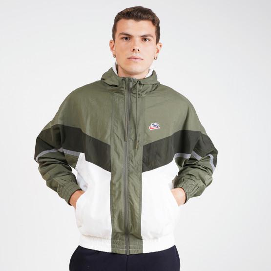 Nike Sportswear Heritage Windrunner Ανδρικό Αντιανεμικό Μπουφάν