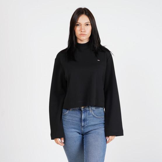 Tommy Jeans Cropped Hybrid Women's Long Sleeve