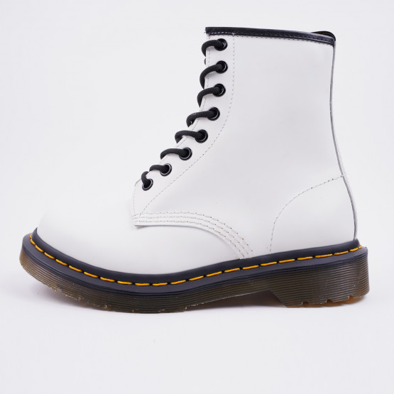 Dr.Martens Smooth White Γυναικεία Μποτάκια