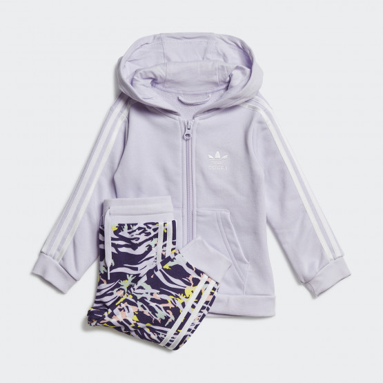adidas Originals Βρεφικό Σετ Ζακέτα Παντελόνι Φόρμας