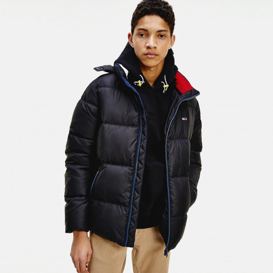 Tommy Jeans Essential Poly Aνδρικό Μπουφάν με Κουκούλα