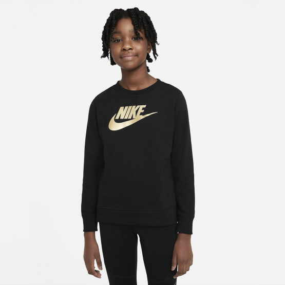 Nike Sportswear Shine Ft Crew Q5 Kid's Jacket