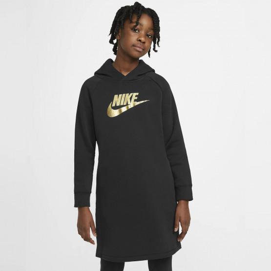 Nike Sportswear Παιδικό Φόρεμα με Κουκούλα