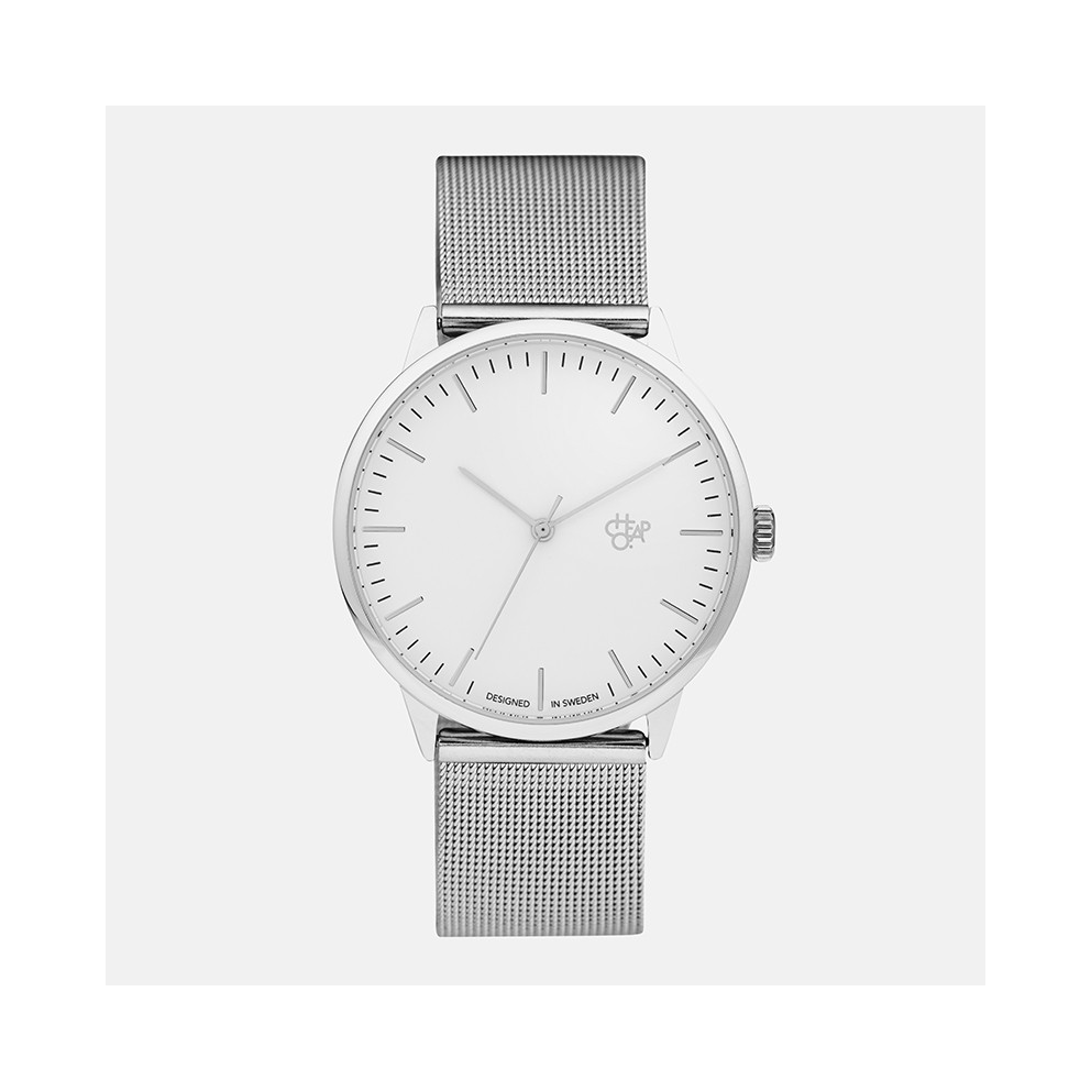 CHPO Nando Silver Ρολόι Χειρός