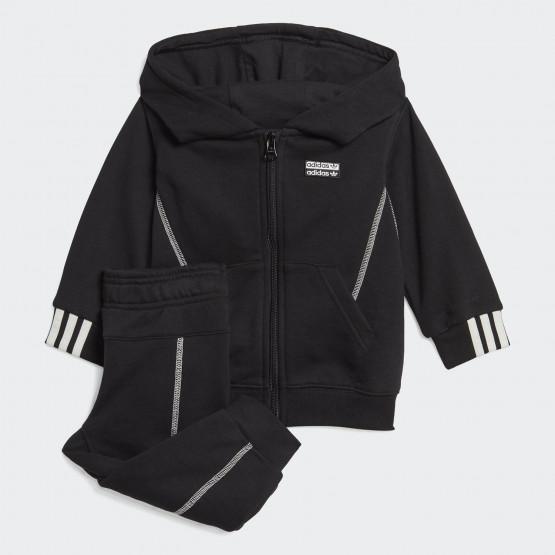 Adidas Originals R.Y.V. Σετ με Κουκούλα και Φερμουάρ για Παιδιά