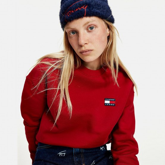 Tommy Jeans Badge Crew Γυναικείο Sweatshirt