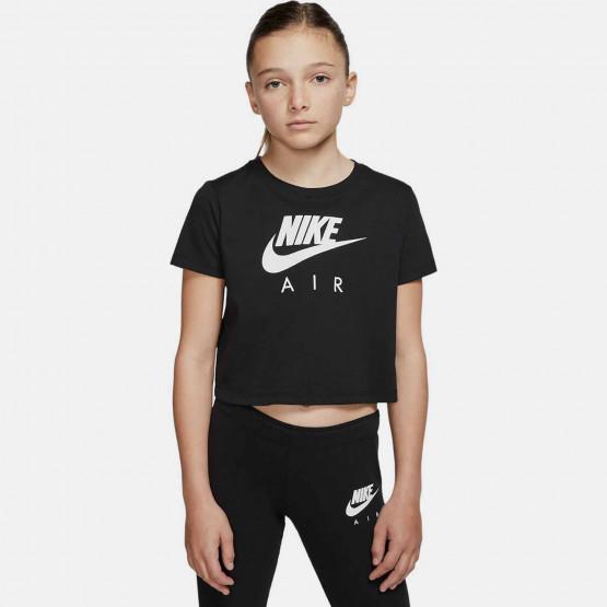 Nike Air Παιδικό Crop Top T-Shirt