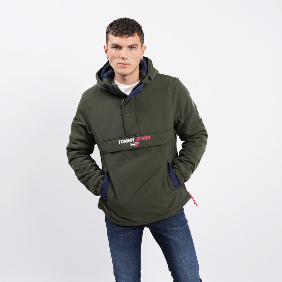 Tommy Jeans Solid Popover Jacket