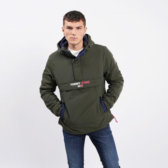 Tommy Jeans Solid Popover Jacket Ανδρικό Μπουφάν