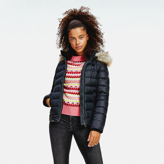 Tommy Jeans Basic Hooded Down Women's Jacket