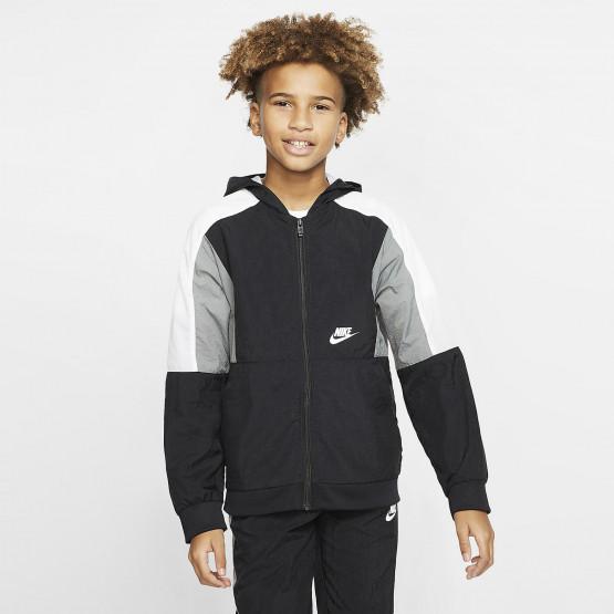 Nike Sportswear Woven Παιδικό Μπουφάν