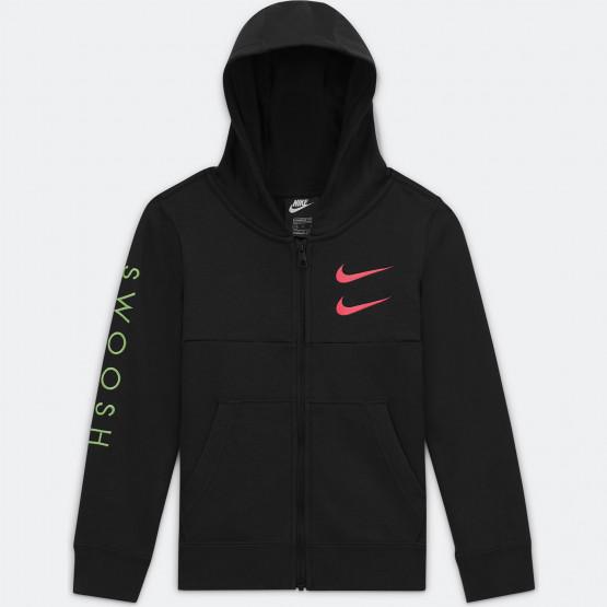 Nike Sportswear Double Swoosh Παιδική Ζακέτα