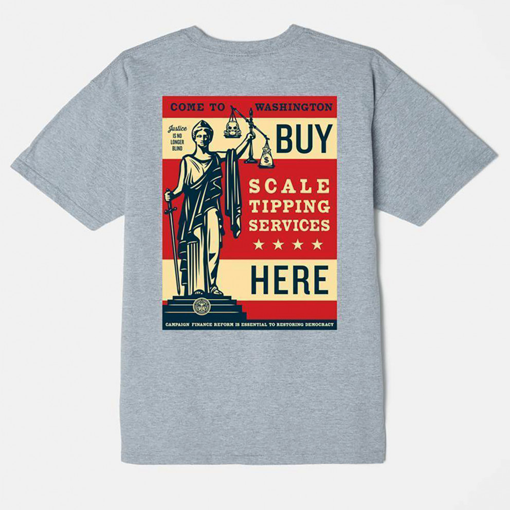 Obey Scale Tipping Shepard Men's T-shirt