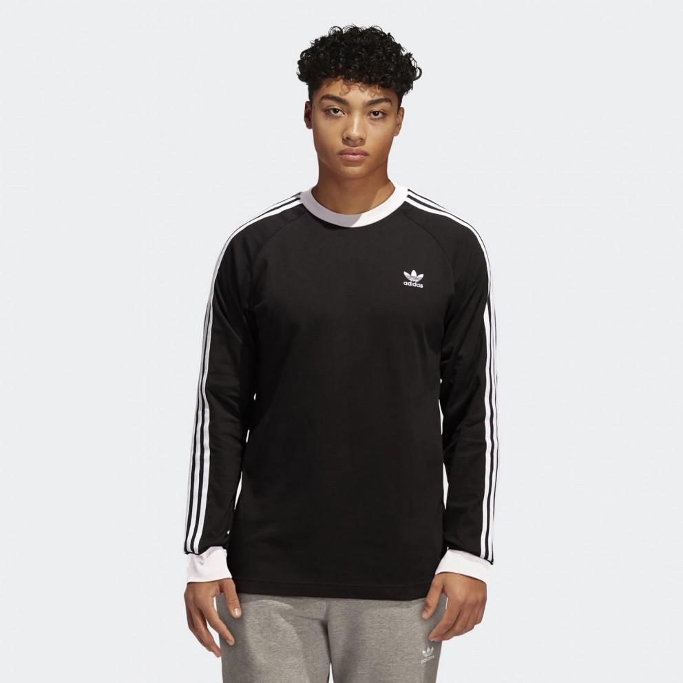 adidas Originals 3-Stripes Ανδρική Μπλούζα με Μακρύ Μανίκι