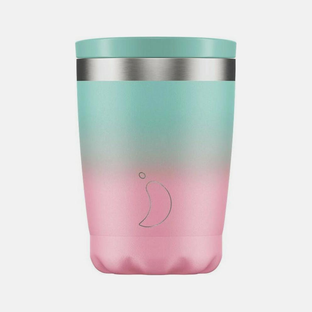 Chilly's Coffee Cup Gradient Pastel Ανοξείδωτο Πότήρι Θερμός 340ml