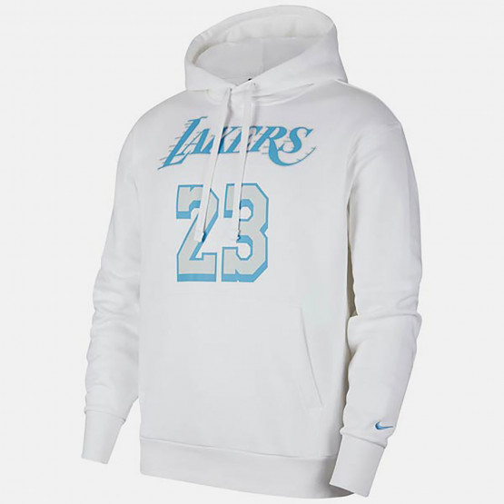 Nike ΝΒΑ LeBron James Los Angeles Lakers City Edition Men's Hoodie