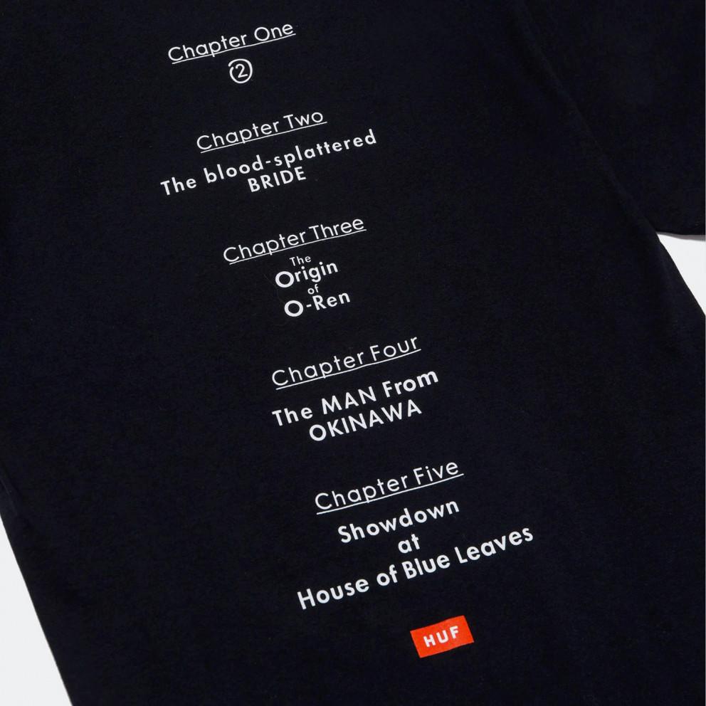 HUF x Kill Bill Chapters Ανδρικό T-shirt
