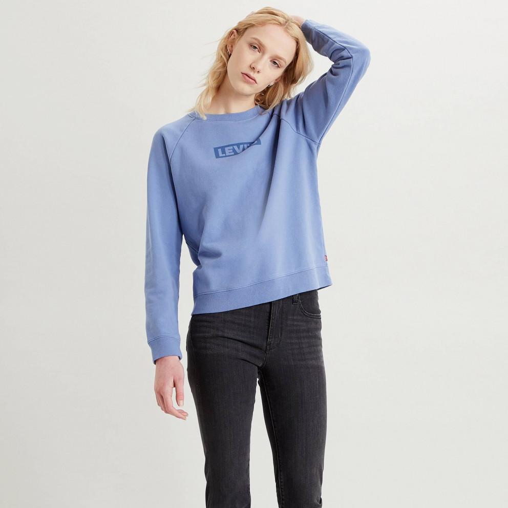 Levi's Relaxed Graphic Crew Boxtab Γυναικεία Μακρυμάνικη Μπλούζα