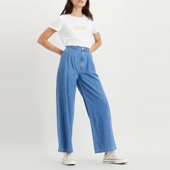 Levi's Pleated Wide Leg Trouser Women's Trousers