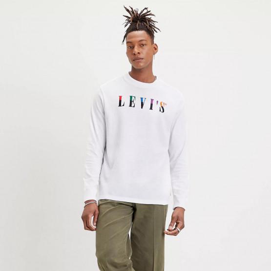 Levi's Graphic Mockneck Men's Sweatshirt