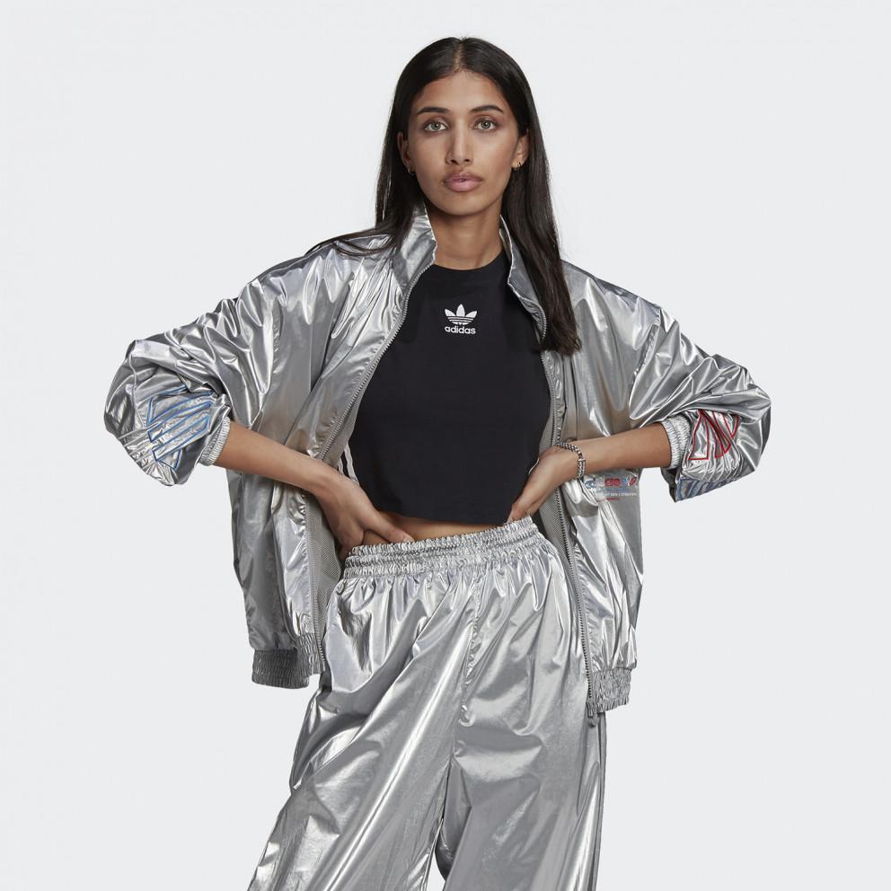 Adicolor Tricolor Metallic Japona Γυναικεία Ζακέτα