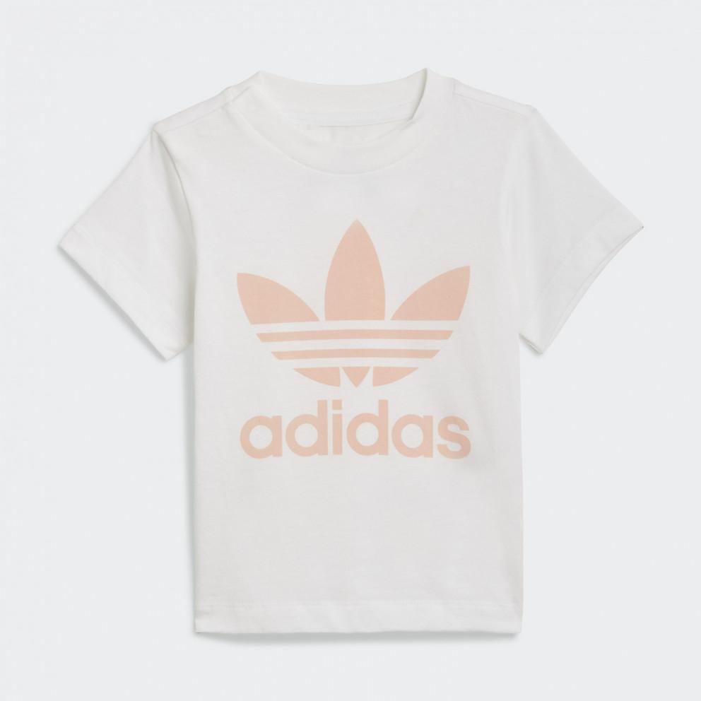 adidas Originals Trefoil Shorts Tee Set Βρεφικό Σετ